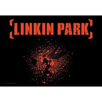 vlajka Linkin Park - Soldier Wings, HEART ROCK, Linkin Park