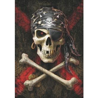 vlajka Anne Stokes - Pirate Skull, ANNE STOKES
