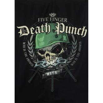 vlajka Five Finger Death Punch, HEART ROCK, Five Finger Death Punch