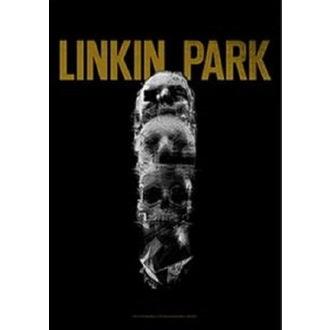 vlajka Linkin Park - Living - Skull Totem
