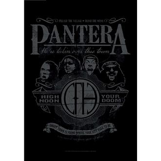 vlajka Pantera - High Noon Your Doom, HEART ROCK, Pantera