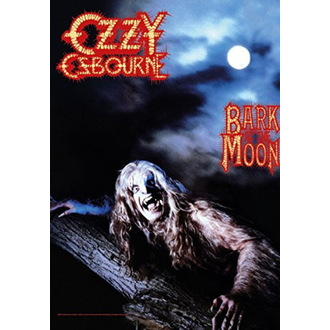 vlajka Ozzy Osbourne - Bark at the Moon, HEART ROCK, Ozzy Osbourne