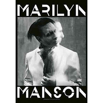 vlajka Marilyn Manson - Seven Days Binge, HEART ROCK, Marilyn Manson