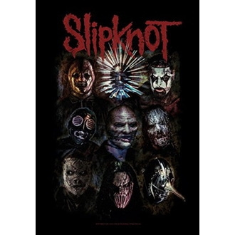 vlajka Slipknot - Oxidized, HEART ROCK, Slipknot