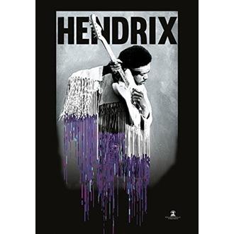 vlajka Jimi Hendrix - Dripping, HEART ROCK, Jimi Hendrix