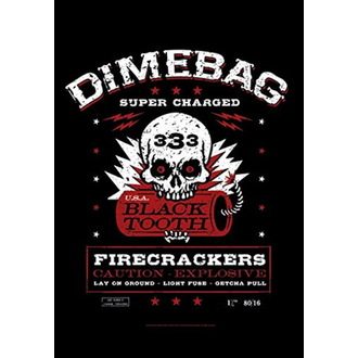 vlajka Dimebag Darrel - Firecrackers, HEART ROCK, Dimebag Darrell