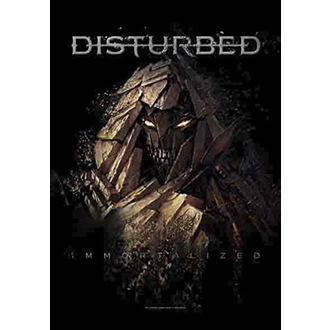 vlajka Disturbed - Shattered, HEART ROCK, Disturbed