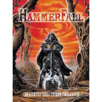 vlajka Hammerfall - Glory to The Brave, HEART ROCK, Hammerfall