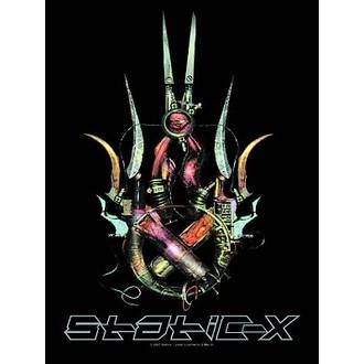 vlajka Static-x HFL 394, HEART ROCK