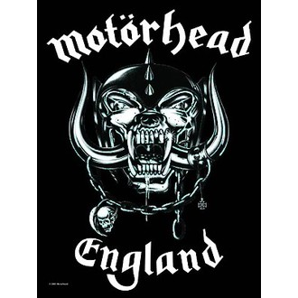 vlajka Motörhead - England, HEART ROCK, Motörhead