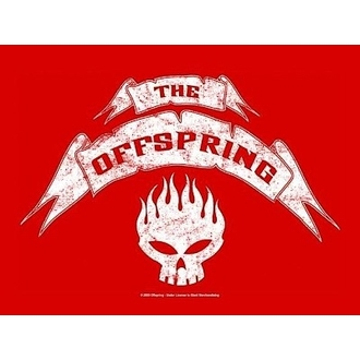 vlajka Offspring - Banner, HEART ROCK, Offspring