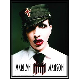 vlajka Marilyn Manson - Uniform, HEART ROCK, Marilyn Manson
