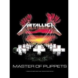 vlajka Metallica - Master Of Puppets