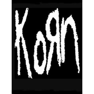 vlajka KORN - Band Logo, HEART ROCK, Korn