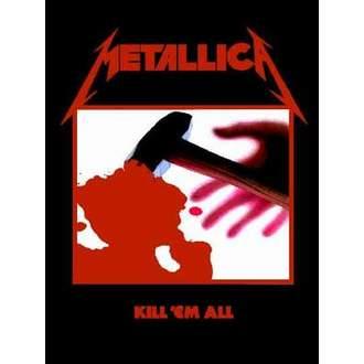 vlajka Metallica - Kill´Em All - HFL0190