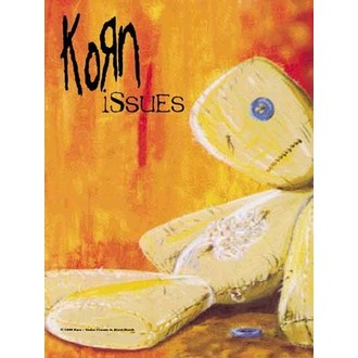 vlajka Korn - Issues, HEART ROCK, Korn