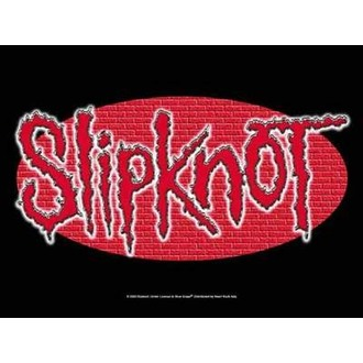 vlajka Slipknot - Wall Logo, HEART ROCK, Slipknot