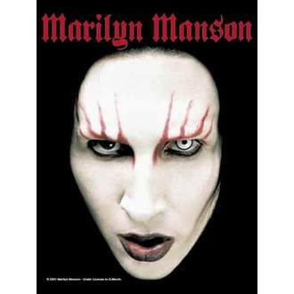 vlajka Marilyn Manson - Head Shot