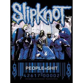 vlajka Slipknot - People=Shit, HEART ROCK, Slipknot