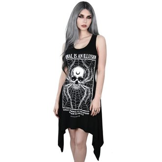 šaty dámské KILLSTAR - ILLUSION LACED UP - BLACK, KILLSTAR