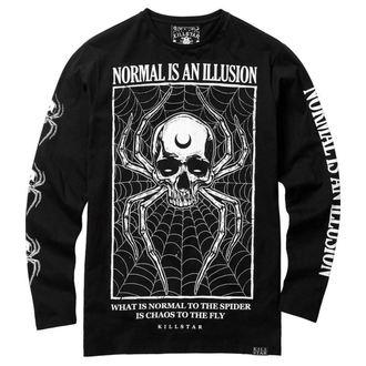 tričko pánské s dlouhým rukávem KILLSTAR - ILLUSION - BLACK - KSRA000098
