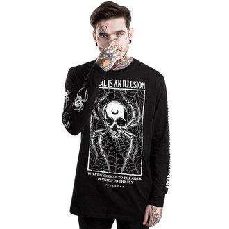 tričko pánské s dlouhým rukávem KILLSTAR - ILLUSION - BLACK, KILLSTAR