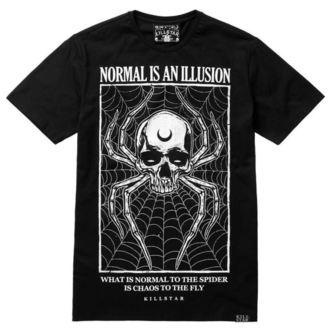 tričko pánské KILLSTAR - ILLUSION - BLACK