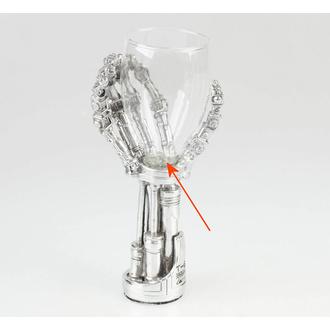 sklenička Terminator 2 - B1457D5 - POŠKOZENÁ, NNM, Terminator