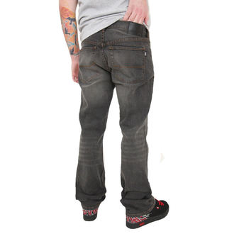 kalhoty pánské -jeansy- CIRCA - Staple Straight - TINT MEDIUM BLACK
