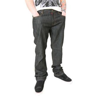 kalhoty pánské -jeansy- CIRCA - Staple Straight - BLACK DRY RINSE