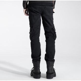 kalhoty pánské PUNK RAVE - Black, PUNK RAVE