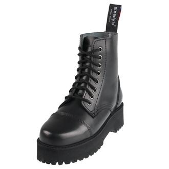 boty STEADY´S - 8 dírkové - Black, STEADY´S