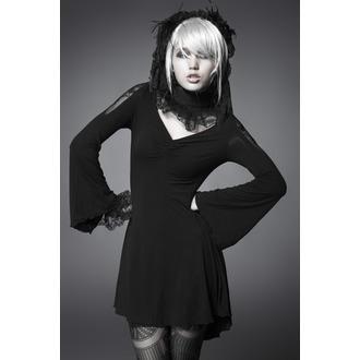 šaty dámské PUNK RAVE - Black Butterfly, PUNK RAVE