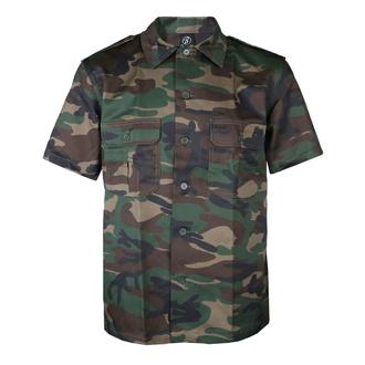 košile pánská BRANDIT - US Hemd 1/2 - 4101-woodland