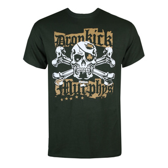 tričko pánské Dropkick Murphys - Punk Jolly Roger Green - Forest Green - KINGS ROAD - 20152619