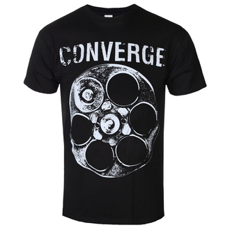 tričko pánské Converge - The Chamber Black - Black - KINGS ROAD, KINGS ROAD, Converge