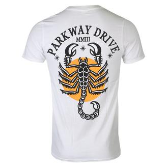 tričko pánské Parkway Drive - Scorpio - White - KINGS ROAD - 20132834