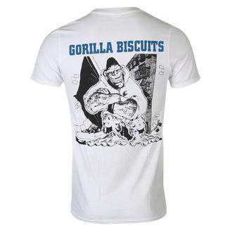 tričko pánské Gorilla Biscuits - City EP Cover - White - KINGS ROAD, KINGS ROAD, Gorila Biscuits