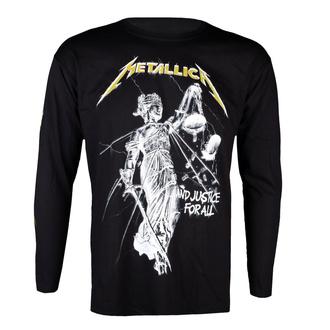 tričko pánské s dlouhým rukávem Metallica - And Justice For All - Black - RTMTLLSBAND