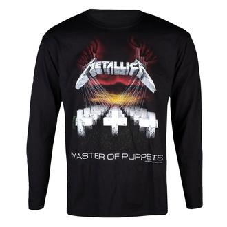 tričko pánské s dlouhým rukávem Metallica - MOP - Black - RTMTLLSBMAS