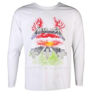 tričko pánské s dlouhým rukávem Metallica - MOP - White, NNM, Metallica