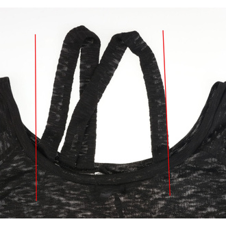 tričko dámské Vixxsin - KARU BLACK - POŠKOZENÉ, VIXXSIN