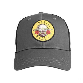kšiltovka Guns N' Roses - Circle Logo - CHAR/BL - ROCK OFF, ROCK OFF, Guns N' Roses
