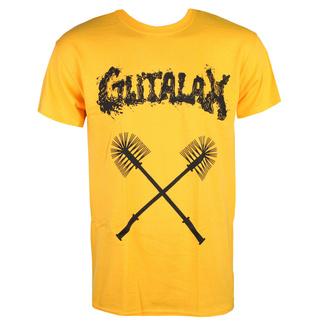tričko pánské GUTALAX - toilet brushes - gold - ROTTEN ROLL REX, ROTTEN ROLL REX, Gutalax