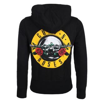 mikina dámská Guns N' Roses - Classic Logo - ROCK OFF, ROCK OFF, Guns N' Roses