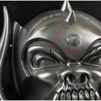 otvírák (nástěnný) Motörhead - Snaggletooth (Gun Metal Finish) - POŠKOZENÝ, BEER BUDDIES, Motörhead