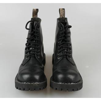 boty STEEL - 8 dírkové - 114/113 - Black - POŠKOZENÉ, STEEL