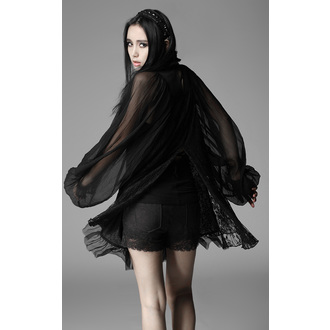 šaty dámské PUNK RAVE - Black Cloud, PUNK RAVE