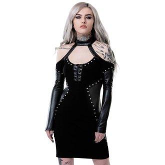 šaty dámské KILLSTAR - IMOGEN - BLACK, KILLSTAR