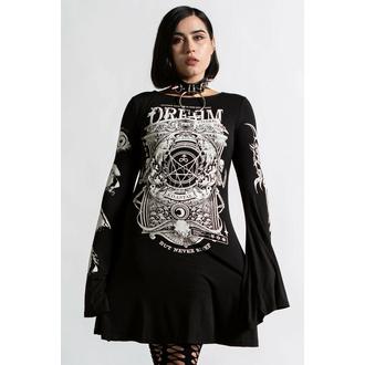 šaty dámské KILLSTAR - Insomnia Trapeze - Black - KSRA004300
